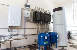 Монтаж системы отопления в коттедже Долгопрудный