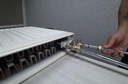 Монтаж радиаторов отопления с нижней подводкой Долгопрудный