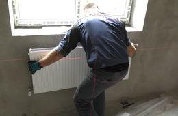 Монтаж стальных радиаторных панелей Долгопрудный