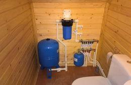 Монтаж водоснабжения в частном доме Долгопрудный