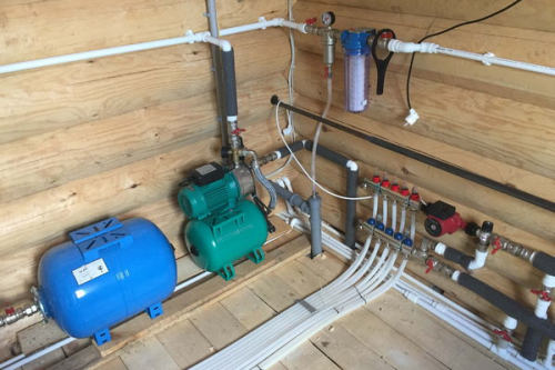 Монтаж водоснабжения в Долгопрудном