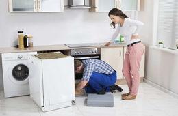 Подключение посудомоечной машины к коммуникациям Долгопрудный