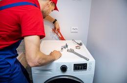 Подключение стиральной машины к коммуникациям Долгопрудный