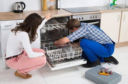 Установка посудомоечной машины в кухню Долгопрудный
