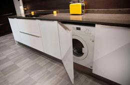 Установка стиральной машины на кухне Долгопрудный