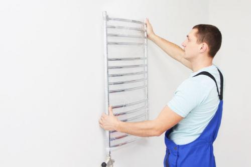 Установка и замена полотенцесушителя в Долгопрудном